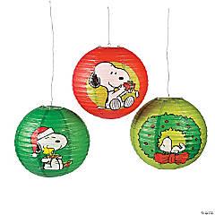 Peanuts® Christmas Hanging Paper Lanterns