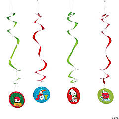 Peanuts® Christmas Hanging Swirls