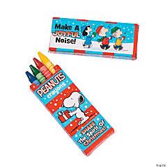 Peanuts® Christmas Inspired Crayons