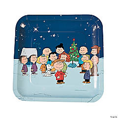 Peanuts® Christmas Paper Dinner Plates