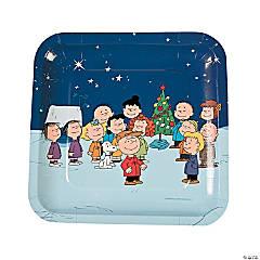 Peanuts® Christmas Paper Dinner Plates