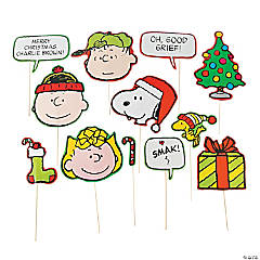 Peanuts® Christmas Photo Stick Props