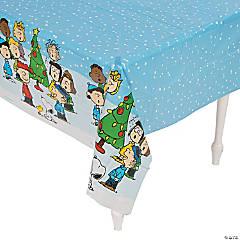 Peanuts® Christmas Plastic Tablecloth