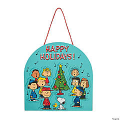 Peanuts® Christmas Sign Craft Kit