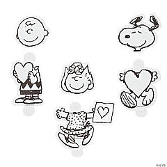 Peanuts® Color Your Own Valentine Sucker Covers
