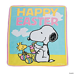 Peanuts® Easter Fleece Throw