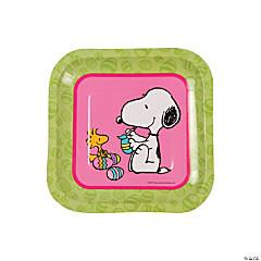 Peanuts® Easter Paper Dessert Plates