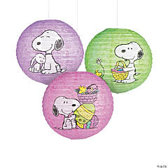 Peanuts® Easter Paper Lanterns