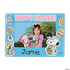 Peanuts® Easter Picture Frame Magnet Craft Kit