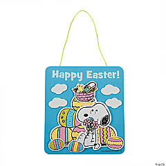 Peanuts® Easter Sign Craft Kit