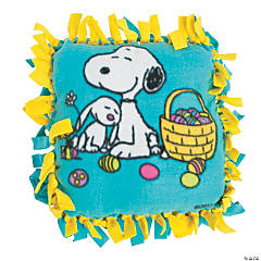 Peanuts® Easter Tied Fleece Pillow Craft Kit
