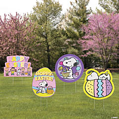 Peanuts® Easter Yard Signs