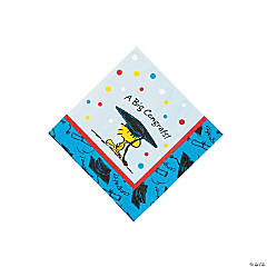 Peanuts® Graduation Beverage Napkins