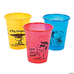 Peanuts® Graduation Disposable Cups
