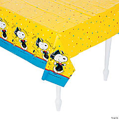 Peanuts® Graduation Plastic Tablecloth
