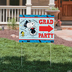 Peanuts® Graduation Yard Sign