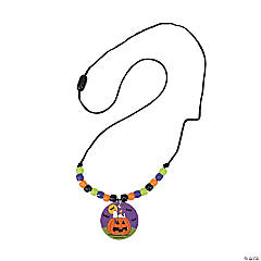 peanuts halloween beaded necklace craft kit