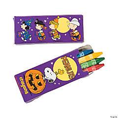 Peanuts® Halloween Crayons