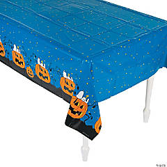 Peanuts® Halloween Plastic Tablecloth