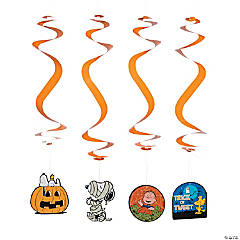 Peanuts® Hanging Swirl Decorations Halloween Décor