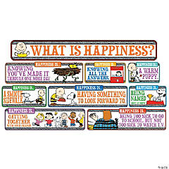 Peanuts® Happiness Is Mini Bulletin Board Set