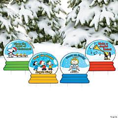 Peanuts® Inspirational Christmas Yard Signs