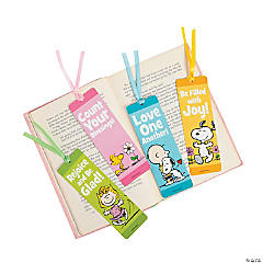 Peanuts® Inspirational Spring Bookmarks