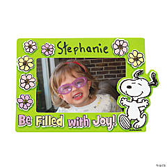 Peanuts® Inspirational Spring Picture Frame Magnet Craft Kit