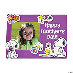 Peanuts® Mother's Day Picture Frame Magnet Craft Kit