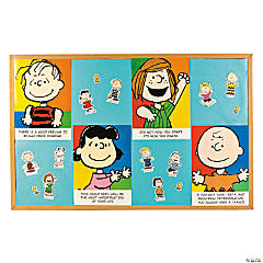 Peanuts® Motivational Bulletin Board Set