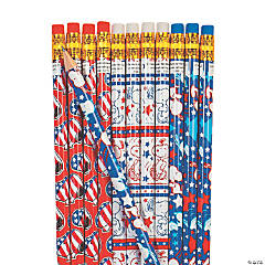 Peanuts® Patriotic Pencil Assortment