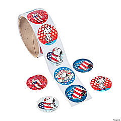 Peanuts® Patriotic Stickers