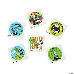 Peanuts® St. Patrick's Day Tattoos
