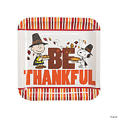 Peanuts® Thanksgiving Paper Dinner Plates