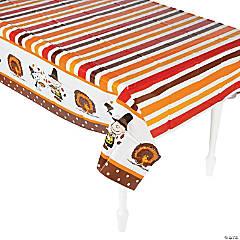Peanuts® Thanksgiving Plastic Tablecloth
