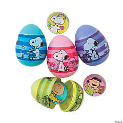 Peanuts® Toy-Filled Plastic Easter Eggs