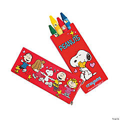 Peanuts® Valentine Crayons