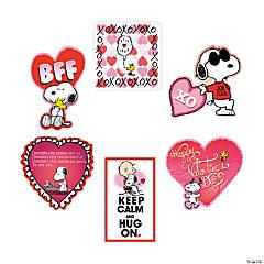 Elegant Peanuts® Valentine Cutouts