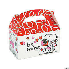 Peanuts® Valentine Favor Boxes