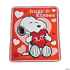 Peanuts® Valentine Fleece Throw