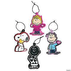 Peanuts® Valentine Magic Color Scratch Ornaments