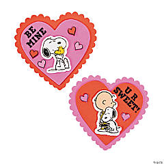 Peanuts® Valentine Magnet Craft Kit