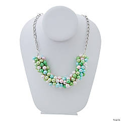 Pearl Cluster Necklace Idea
