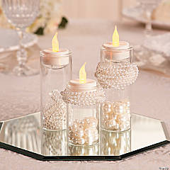 Pearl Tea Light Holders Décor Idea