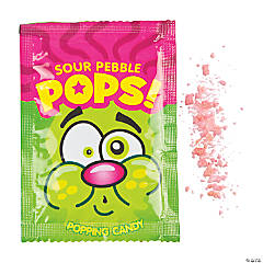 Pebble Pops Sour Popping Candy