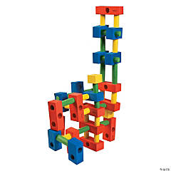 Peg & Brick Building Blocks Set