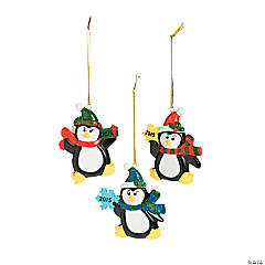 2015 Penguin Christmas Ornaments
