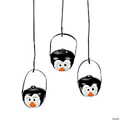 Penguin Jingle Bell Ornaments