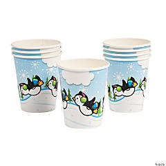 Penguin Paper Cups
