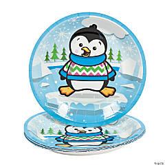 Penguin Party Paper Dessert Plates